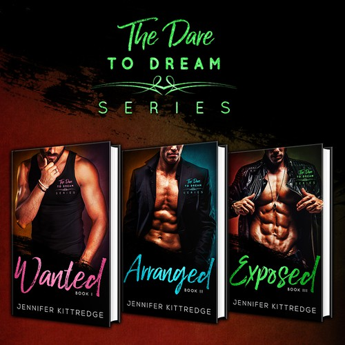 Social media banners - The Dare to dream series by Jennifer Kittredge