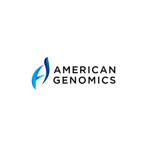 initial A American Genomics logo