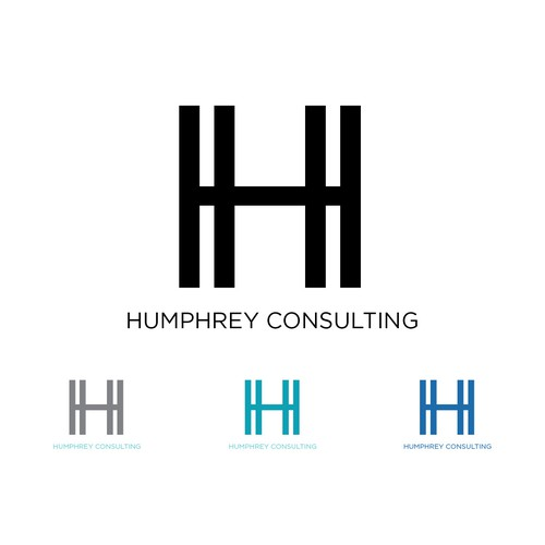 bold logo for female consulting company