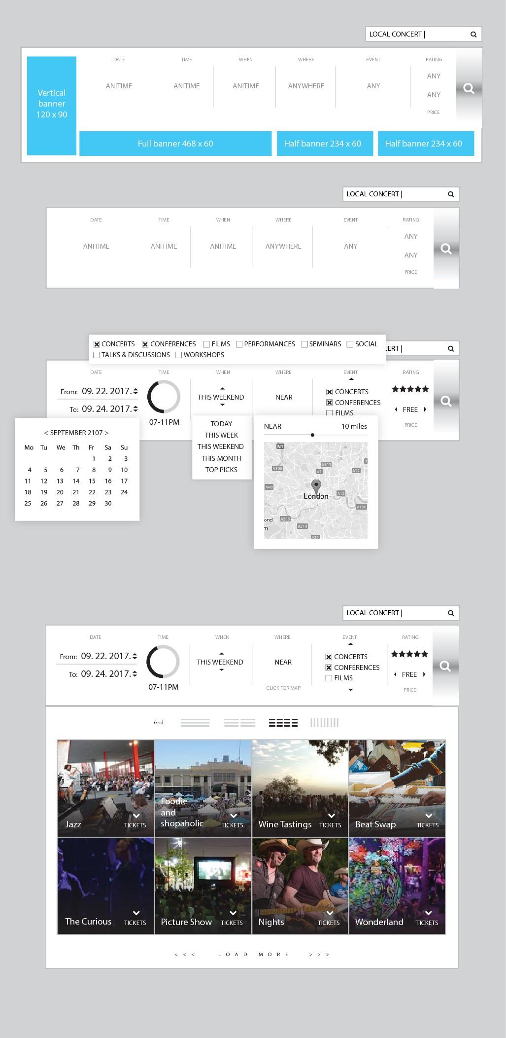 SearchIQ needs niche-based autocomplete widget design