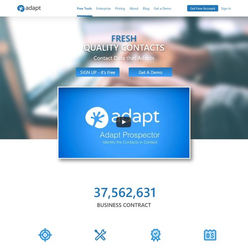 Company Landing Pages