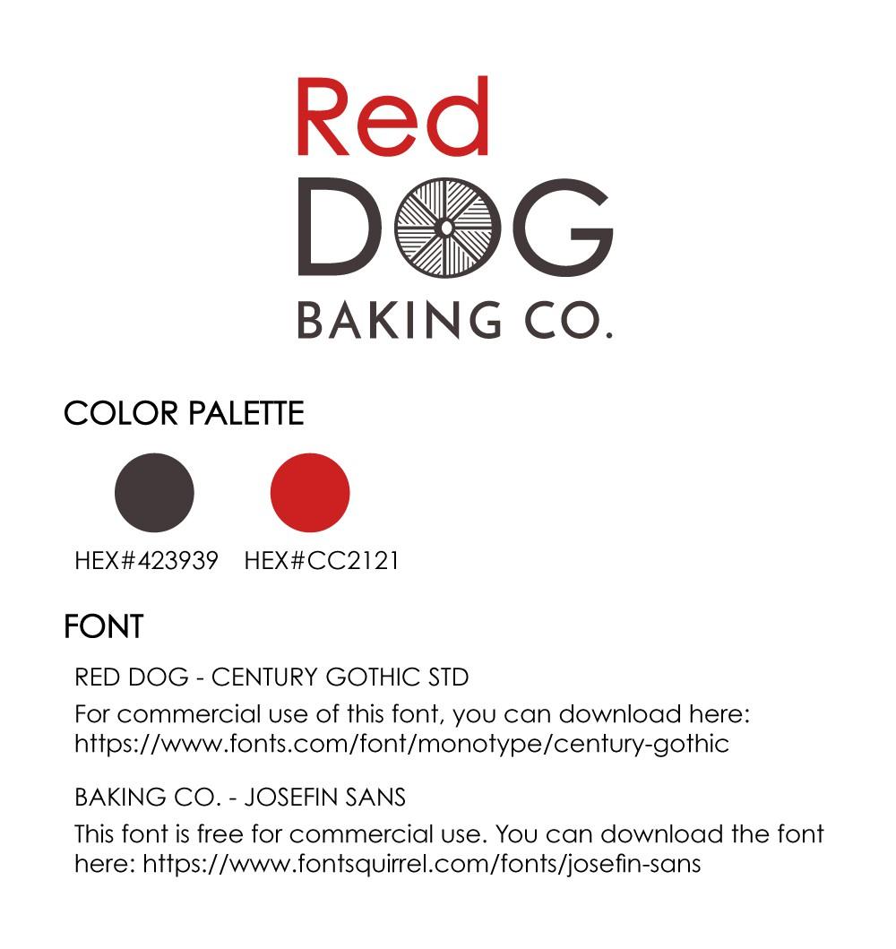 Red Dog Baking Co. Logo