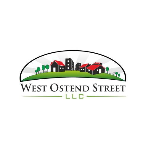 Logo for a house rental company