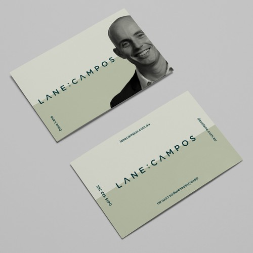 Business Card Design Concept For Lane:Campos