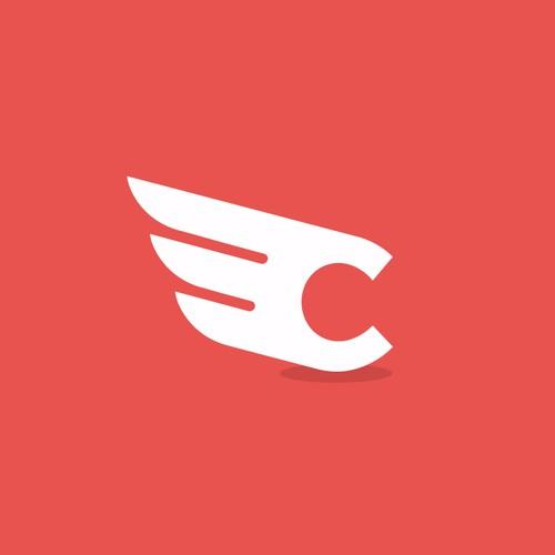 Logo concept for Copyhawk