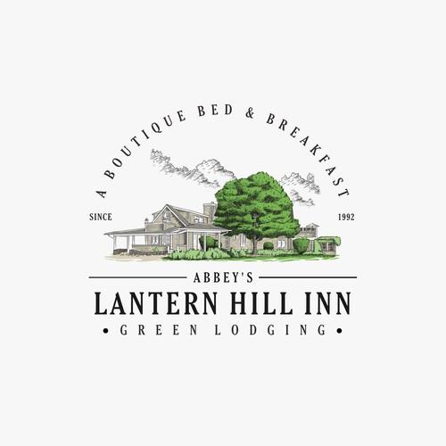 Logo Concept for Lantern Hill Inn