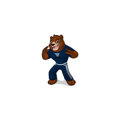 kids mascot for martial art