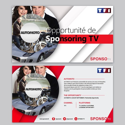 Bold Powerpoint for TV Promotions
