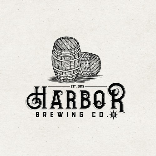 Logo concept for Harbor Brewing Co.