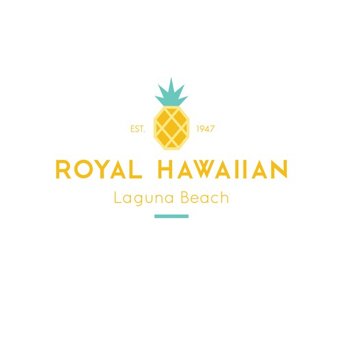Bold logo concept for Royal Hawaiian
