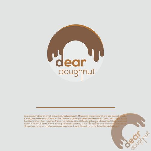 Logo design for a doughnut shop