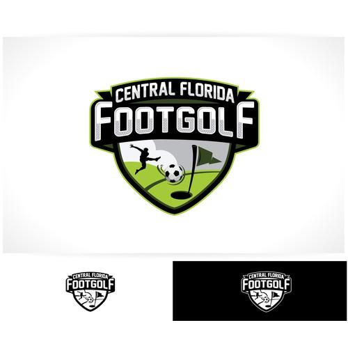 FootGolf Logo Design