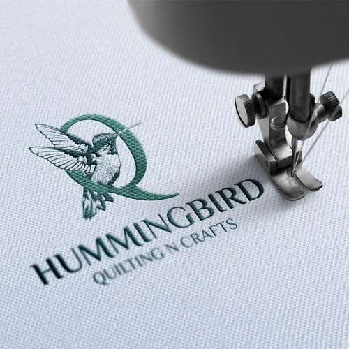 Design a logo to launch a new quilting and embroidery business