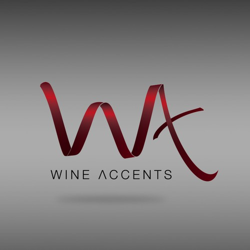Brand identity for a Wine accents company