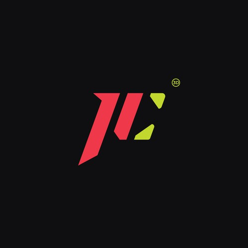 PRINT CORE Logo Design