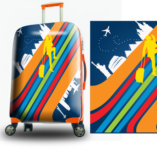 Luggage Suitcase Design for CY Import Corporation