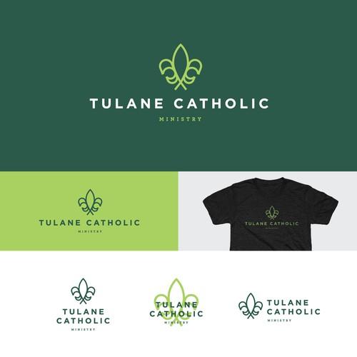 Tulane Catholic Logo Update