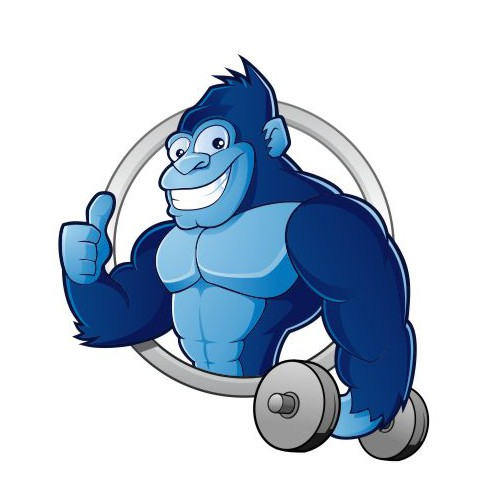 Logo for Blue Monkey Fitness