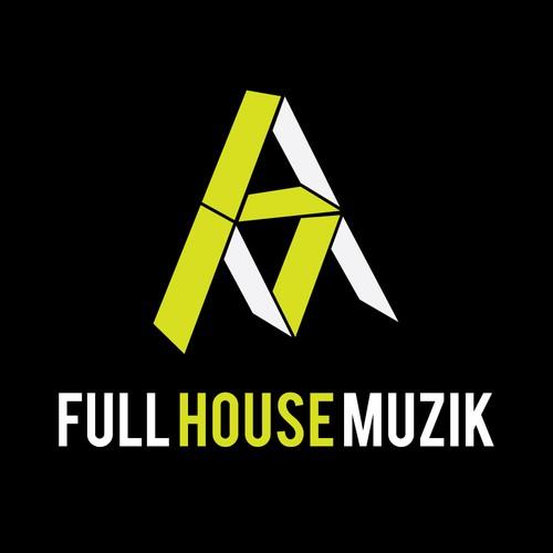 Logo Design for Full House Muzik