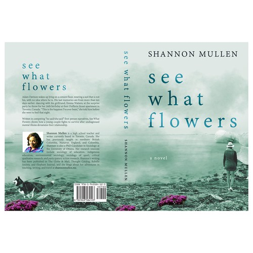 "Book cover for ""See What Flowers"""