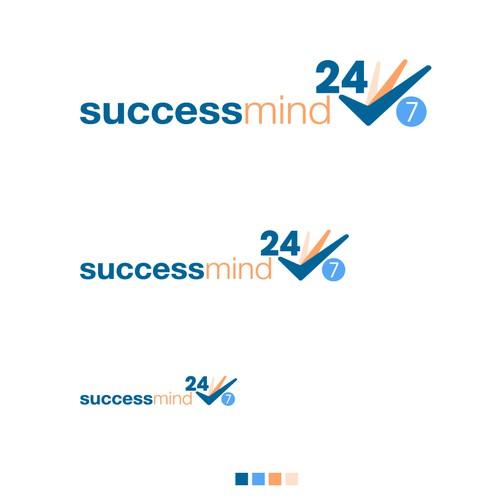 successmind24/7 Logo concept