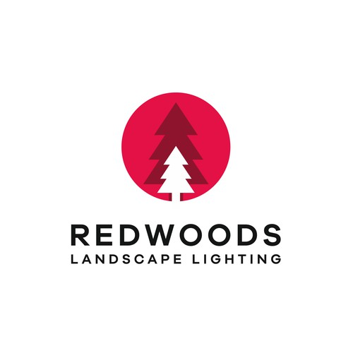 Logo design for a landscape lighting startup
