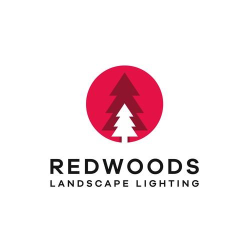 Logo design for a landscape lighting startup