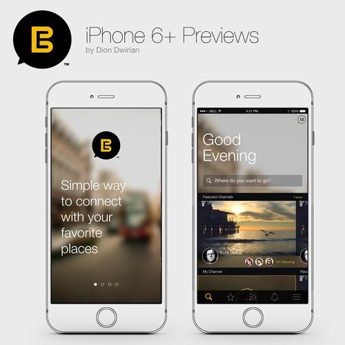 Redesign Everyware App