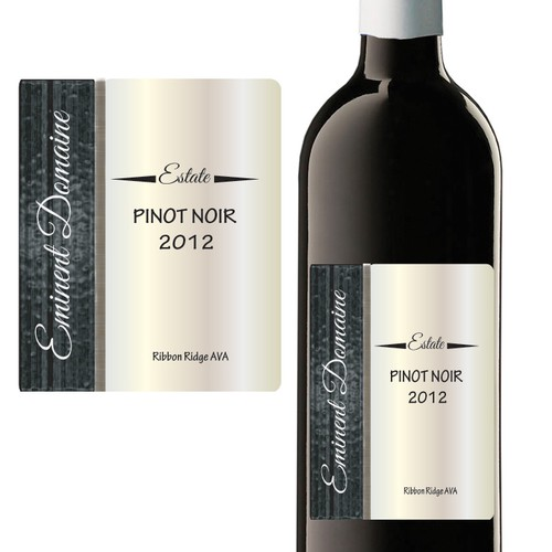 Help Eminent Domaine with a new product label