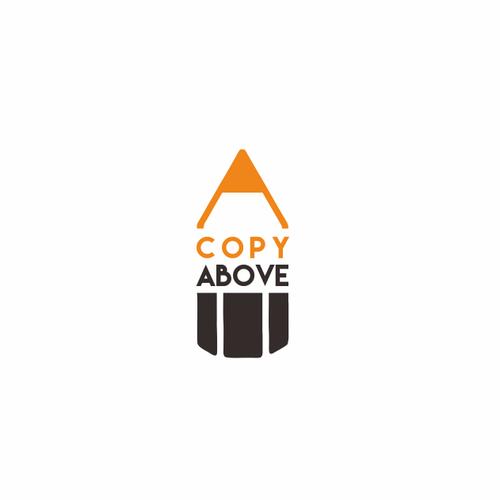 A Copy Above Logo