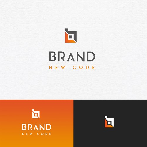 "Logo design for the IT company ""Brand New Code"""