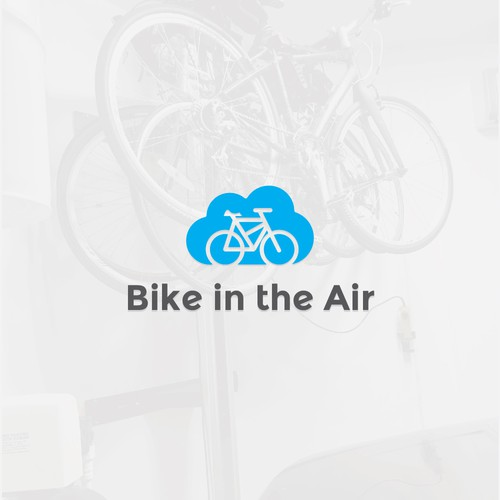 Simple & iconic logo for Bike in the Air