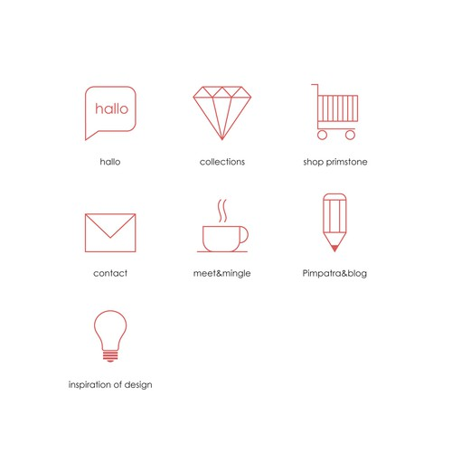 Jewelry Website Icons