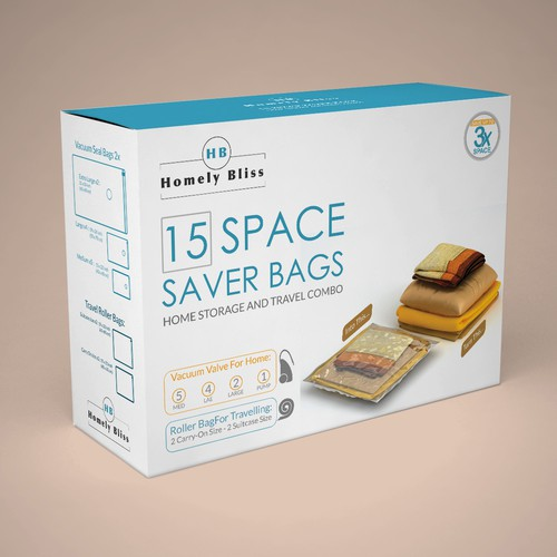 space saver bags packaging