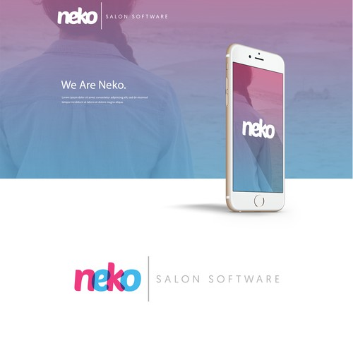 Modern, Fun & Fresh Logo-Type for Neko