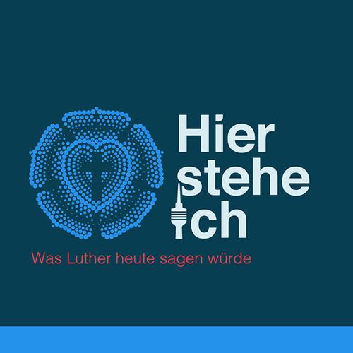 Finalist at 'Hier stehe ich' logo contest