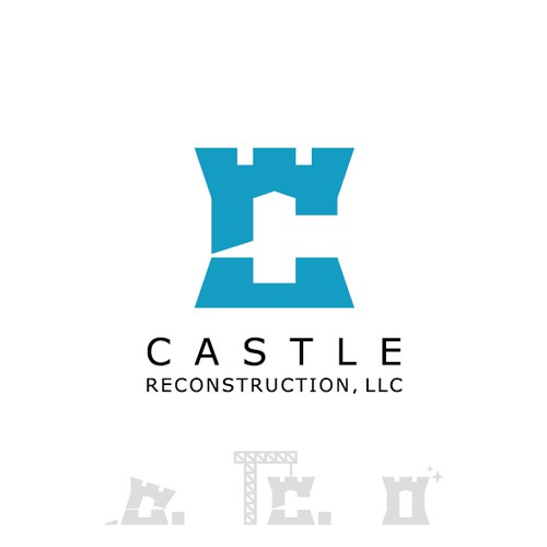 Professional & elegant logo for residential reconstruction company.