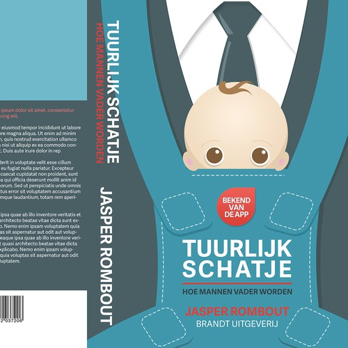 New Dad Book Cover Design