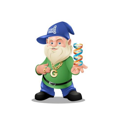 Gnome Mascot
