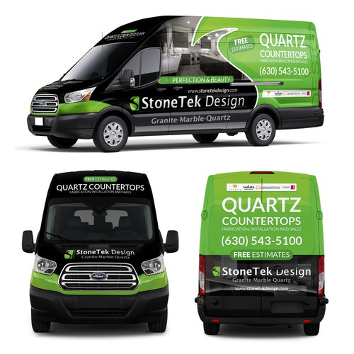 Quartz Countertops Van