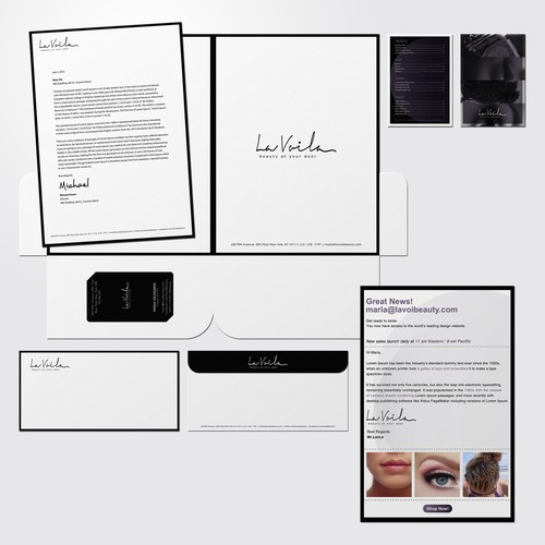 New stationery wanted for La Voila