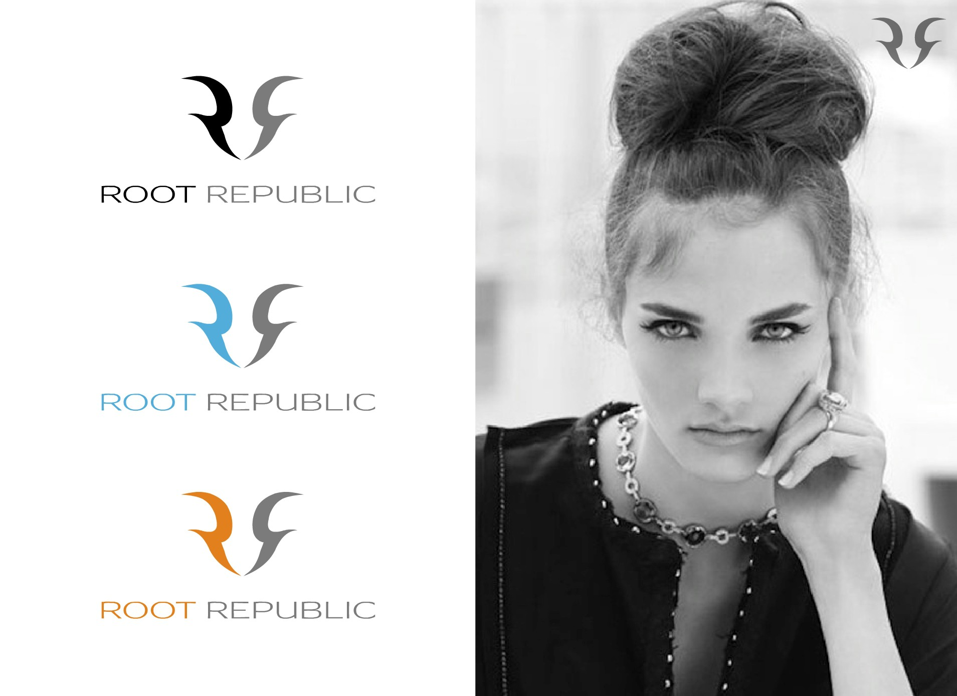 logo for Root Republic