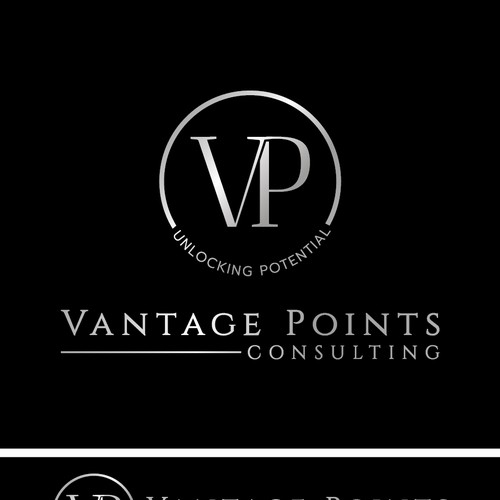 Vantage Point Consulting Logo Design