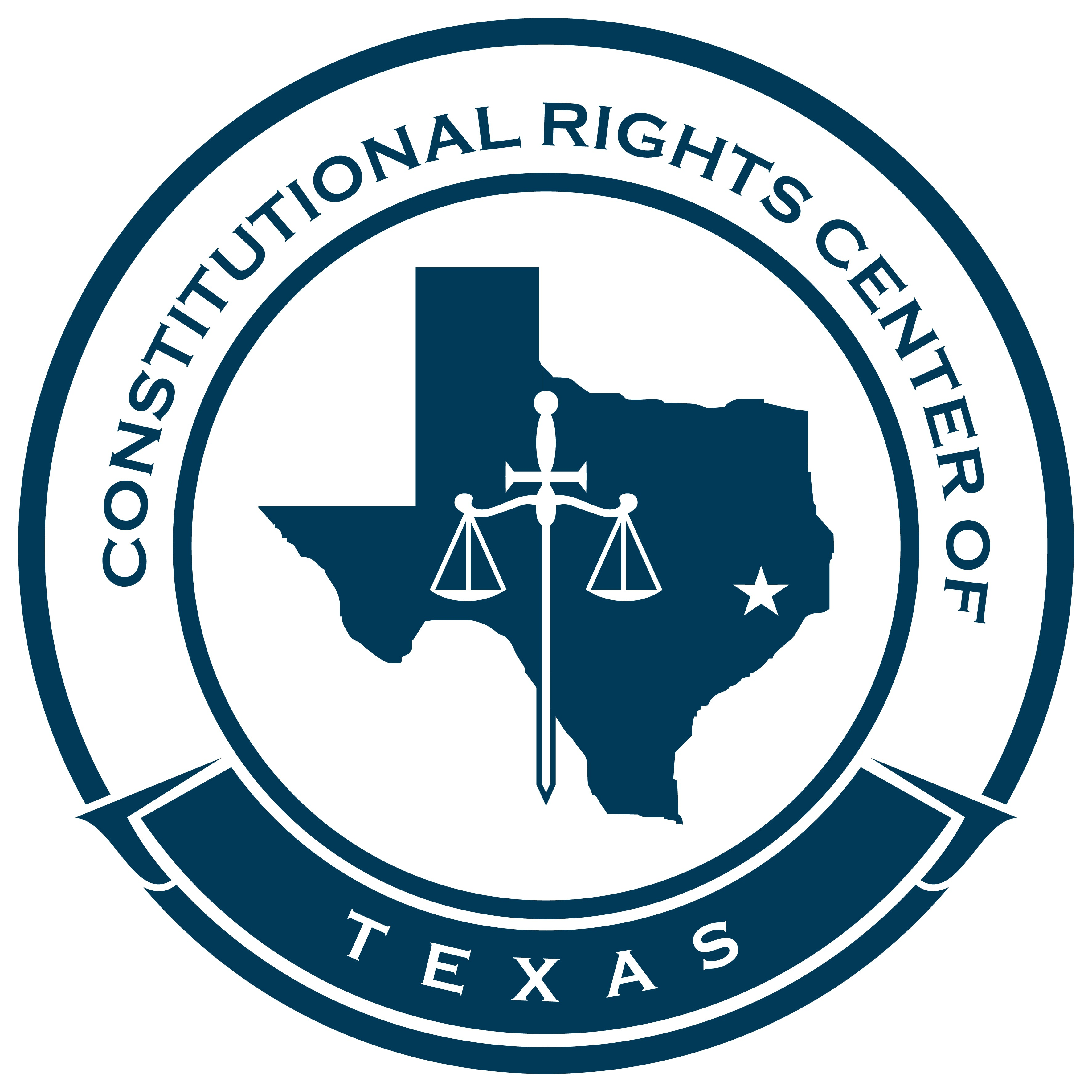 Create a logo for a non-profit dedicated to protecting the People's constitutional rights.