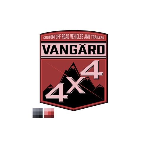 4X4 badge