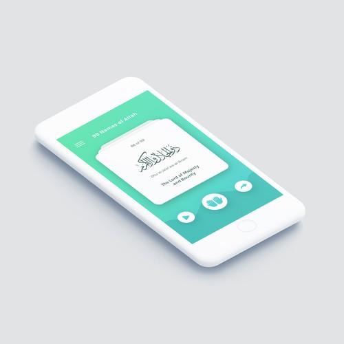 Islamic App Design