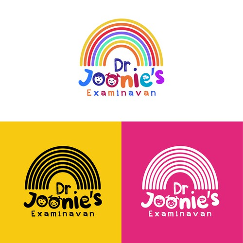 Cute logo for kid dentist