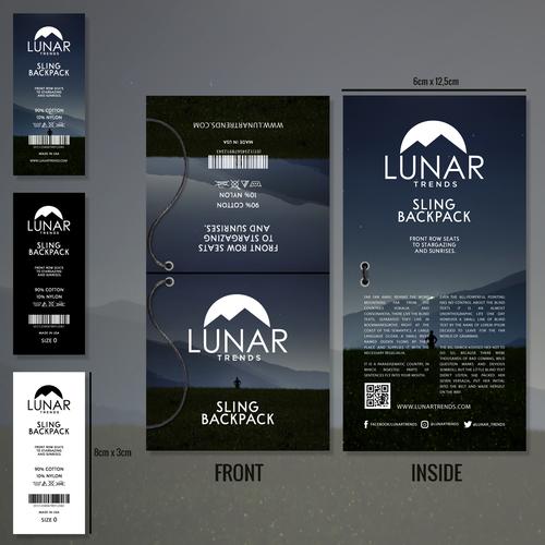 Lunar Trends Product Branding.