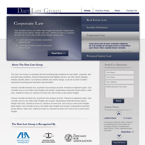 New Law Website