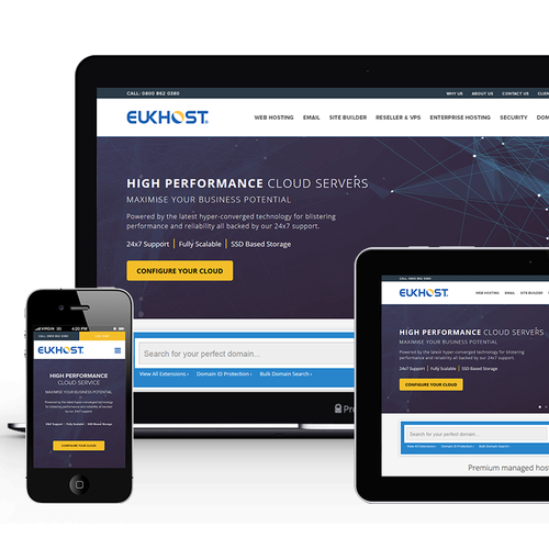 New Header and Footer for eUKhost.com